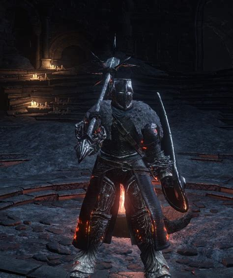 build a 'spiked mace + Black Knight sword' poise dedicated