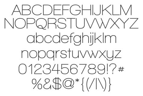 30 Thin and Light Fonts That Should Not Be Free