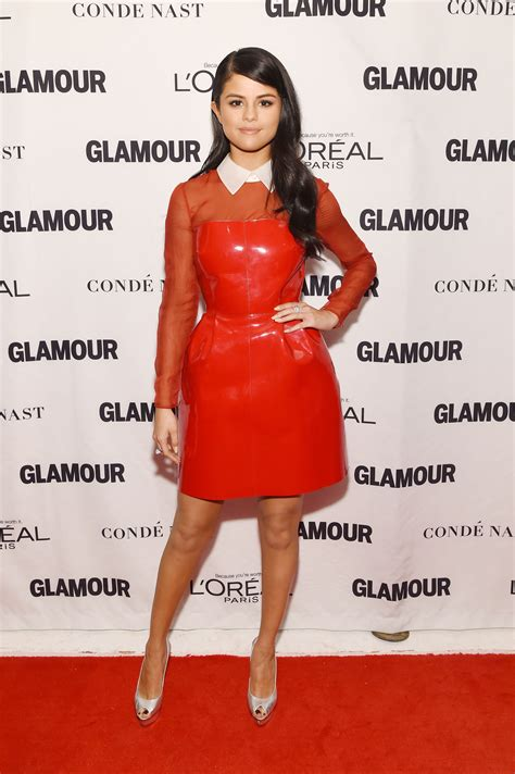 Selena Gomez Is Red-Hot At Glamour's Women Of The Year
