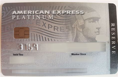 American Express Platinum Reserve Credit Card Review by