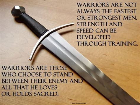 """A Warrior - """"The more you sweat in training, the less you"""