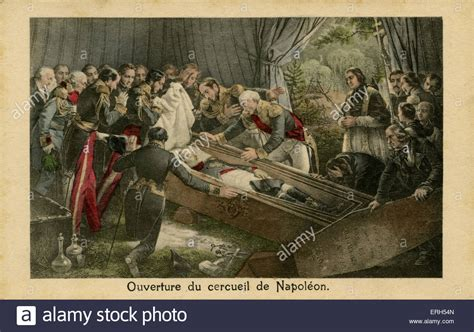 The Opening of the Emperor Napoleon 's Coffin
