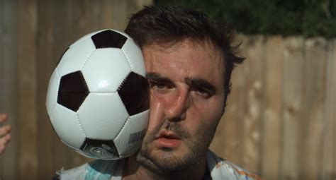 A Soccer Ball Hitting Someones Face At 1120X Slow Motion