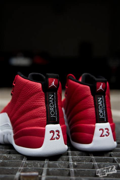 The Air Jordan 12 Retro Gym Red is one of the hottest