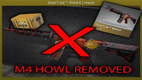 M4A4   Howl REMOVED FROM CS:GO! - YouTube