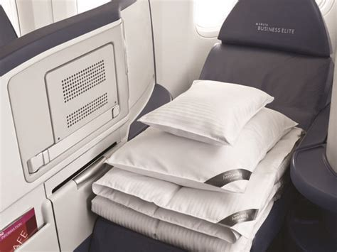 Airlines Offering more Amenities to go with those Flat Bed