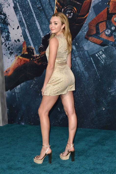 Peyton List at the Pacific Rim Uprising Premiere in