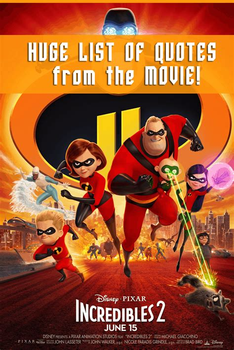 Incredibles 2 Quotes - Top Quotes From the Movie - Enza's