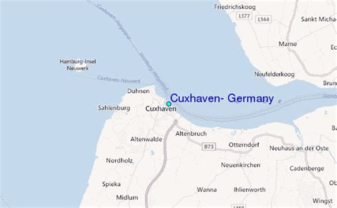 Cuxhaven, Germany Tide Station Location Guide