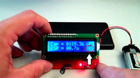Low cost ESR Meter review - YouTube