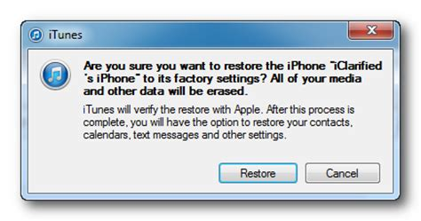 How to Restore Your iPhone to Factory Settings Using