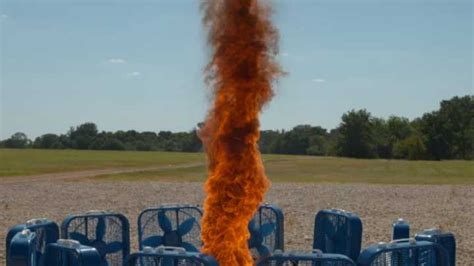 A Fire Tornado Filmed In Slow Motion Is Even More Awesome